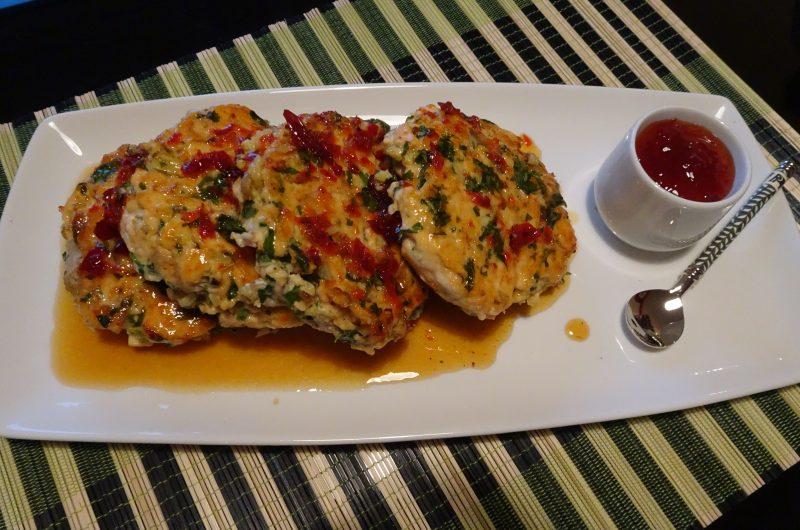 Salmon Patties-Asian style